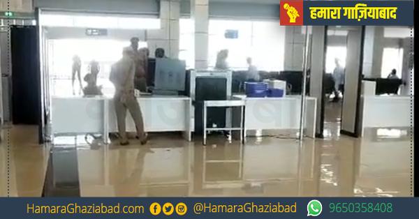 हिण्डन हवाई अड्डे से पिथौरागढ़ की यात्रा करने पहुँचे 9 यात्री
