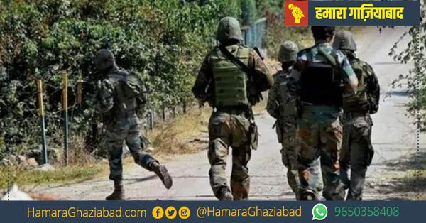 जम्मू-कश्मीर में पुलवामा के द्रबगाम में सुरक्षाबलों पर आतंकी हमला, सर्च ऑपरेशन जारी