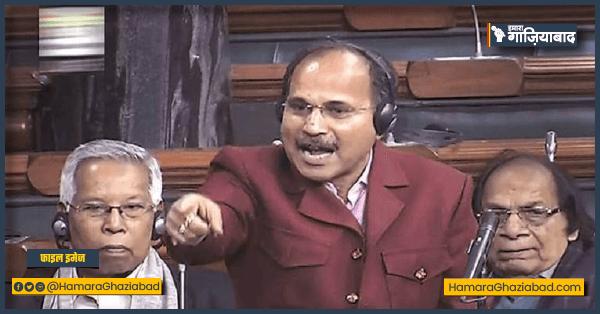 राष्ट्रपिता महात्मा गांधी का अपमान करने वाले हैं रावण की औलाद – अधीर रंजन चौधरी