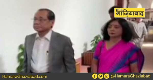 भारत के पूर्व मुख्य न्यायधीश रंजन गोगोई ने ली राज्यसभा सदस्यता की शपथ, कांग्रेस ने किया वॉक आउट