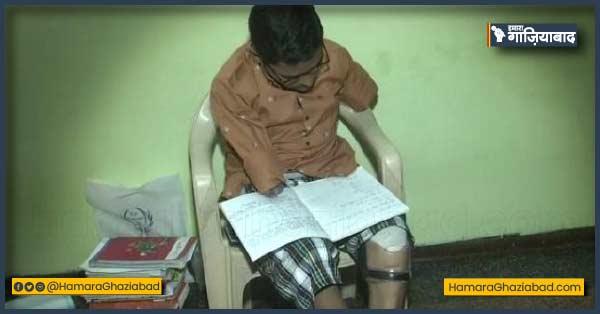 प्रेरणा – 13 साल की उम्र में हाथ-पाँव खोने पर भी नहीं हारी हिम्मत, शिवम दे रहे हैं 12वीं की परीक्षा