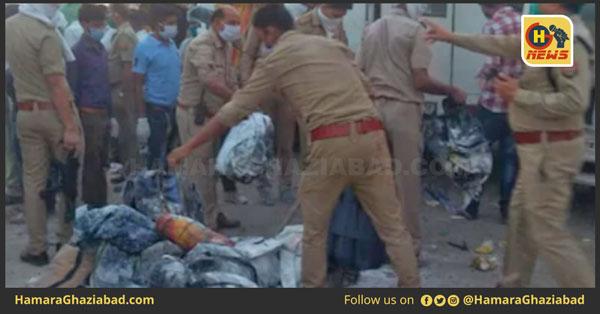 औरैया हादसे पर सीएम योगी का सख्त एक्शन, 2 अधिकारी सस्पेंड, मृतकों को 2-2 लाख रुपए मुआवजे का ऐलान