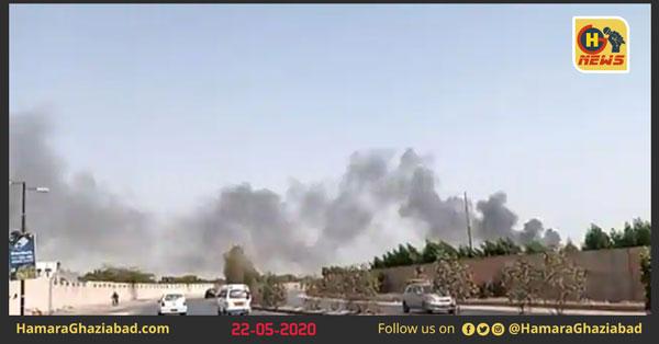 पाकिस्तान एयरलाइंस का विमान दुर्घटनाग्रस्त, विमान में थे 90 लोग सवार