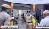 एसएसपी ने पुलिस लाइन का निरीक्षण कर आवश्यक निर्देश दिए