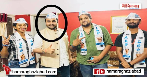 AAP नेता सैयद अब्बास ने खोया आपा, BJP की महिला प्रवक्ता को दीं गालियाँ