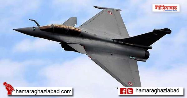राफेल की पराक्रमी उड़ान देखकर डरा पाकिस्तान