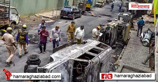बड़ी साजिश का नतीजा बेंगलुरू दंगा, दंगाइयों को करना होगा नुकसान की भरपाई