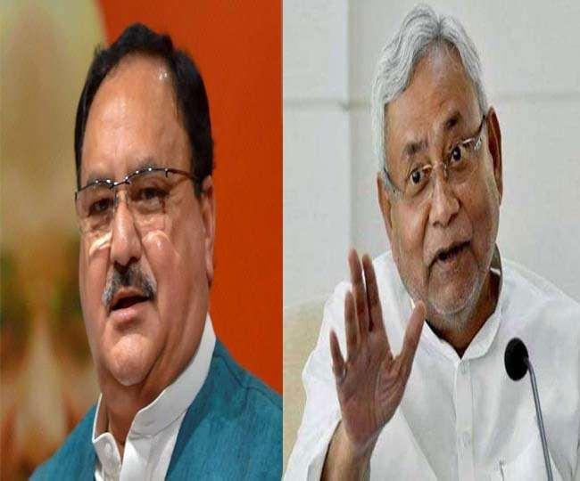 बिहार: NDA में सीट बंटवारे पर आज जेपी नड्डा करेंगे नीतीश से चर्चा, चिराग पासवान के कड़े तेवरों पर भी होगी बात