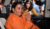 BJP नेता उमा भारती कोरोना पॉजिटिव, वंदे मातरम कुंज में खुद को किया क्वॉरंटीन