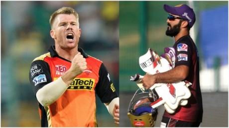 सनराइजर्स हैदराबाद ने जीता टॉस – किया पहले बल्लेबाजी का फैसला