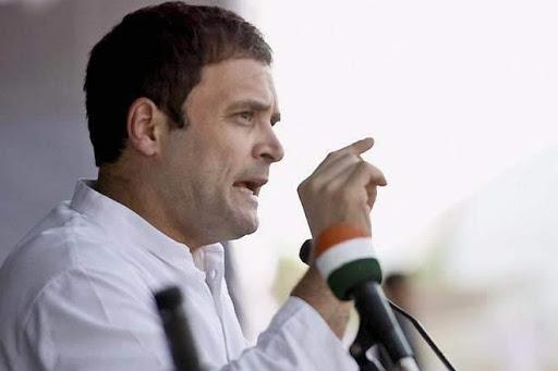 राहुल गांधी ने मोदी सरकार पर तंज कस्ते हुए – कोविड तो बस बहाना है, सरकारी दफ़्तरों को 'स्टाफ़-मुक्त' बनाना है।