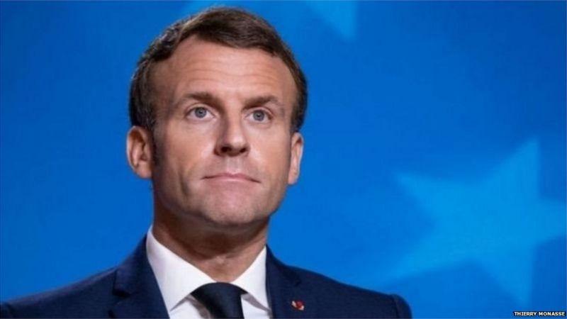फ़्रांस हमला: मैक्रों बोले- यह इस्लामिक आतंकवादी हमला है, हम झुकेंगे नहीं