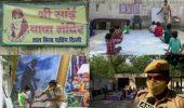 दिल्लीः ऑनलाइन क्लास न कर पाने वाले बच्चों के लिए कांस्टेबल बने सहारा, मंदिर में ले रहे क्लास