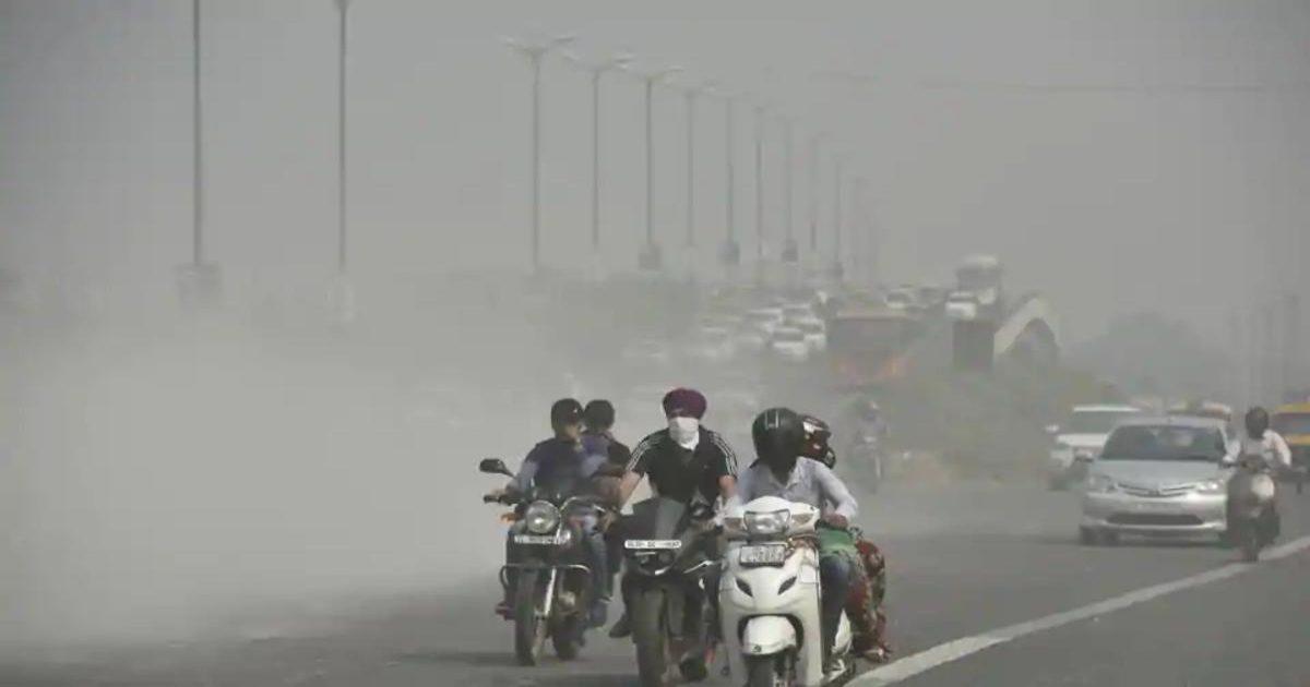 गाजियाबाद , एक्यूआई 344, जहरीली हुई शहर की हवा