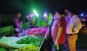 गाजियाबाद वैशाली सेक्टर 6, साप्ताहिक बाजार में चला स्वच्छता अभियान