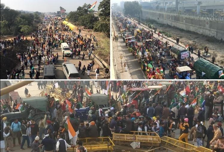 दिल्ली हिंसा के बाद 400 से अधिक किसान लापता, मुद्दा गरमाया