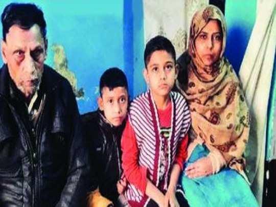 गाजियाबाद,'बच्चे पापा के आने की राह में रोते-रोते सो जाते हैं', मुरादनगर हादसे में जान गंवाने वाले शख्स के परिवार का दर्द