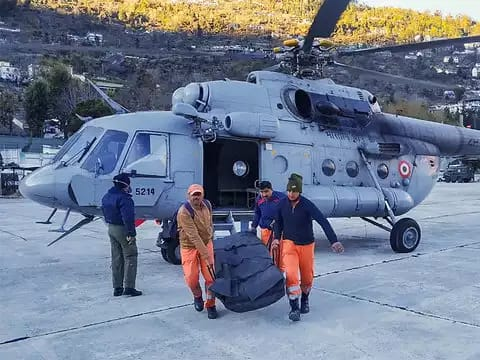 How India's army, air force, navy, ITBP and others are saving lives in Uttarakhand