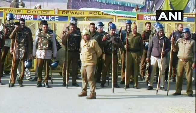 चक्का जाम: दिल्ली-एनसीआर में 50 हजार सुरक्षाबल तैनात, अलर्ट पर 12 मेट्रो स्टेशन, पढ़ें पूरा शेड्यूल