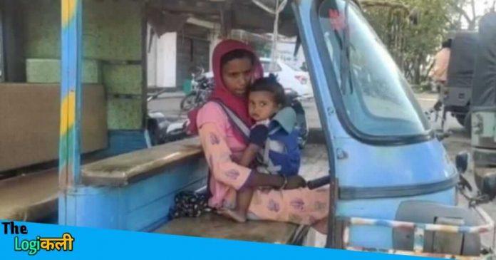 घर चलाने के लिए नही थे पैसे, नन्हे बच्चे को पेट मे बांधकर ऑटो चालाती हैं तारा प्रजापति: इस तरह चलता है परिवार