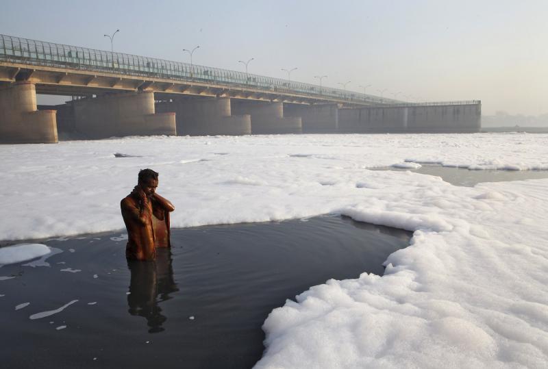 शाही स्नान के लिए यमुना में करें शुद्ध जल की व्यवस्था : साधु-संतों की प्रधानमंत्री से मांग