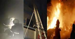 मुंबई में कोविड हॉस्पिटल में आग:13 घंटे बाद भी आग पर काबू नहीं पाया जा सका, CM उद्धव मौके पर पहुंचे; मौत का आंकड़ा 10 हुआ
