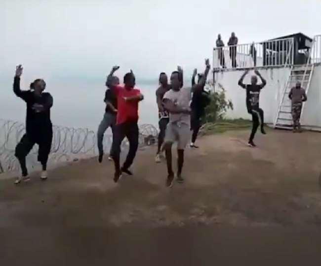 भांगड़ा पर थिरककर अफ्रीका के लोगों ने मनाया वैशाखी, बच्चे ने लगाया वाहे गुरु का नारा