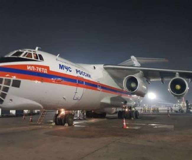 अब भारत की मदद के लिए सामने आया रूस, वेंटिलेटर्स-ऑक्सीजन प्रोडक्शन यूनिट समेत भेजे कई उपकरण