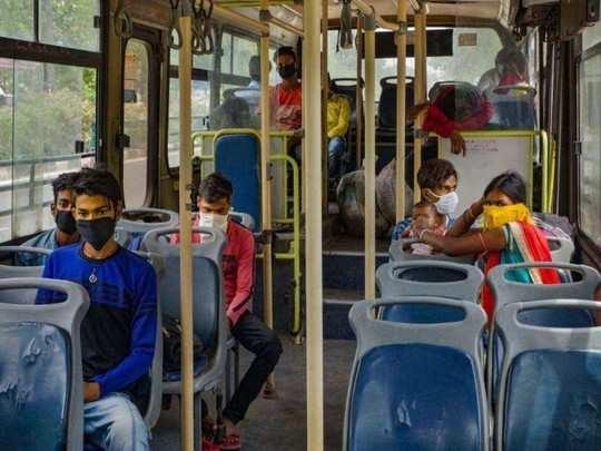 Ghaziabad Coronavirus News: गाजियाबाद में नई गाइडलाइंस लागू, सार्वजनिक ट्रांसपोर्ट में 50 प्रतिशत से ज्यादा यात्रियों पर रोक