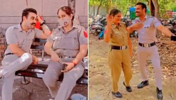 दिल्ली पुलिस के दो कांस्टेबल का Video Viral, अब 15 दिन में देना होगा जवाब