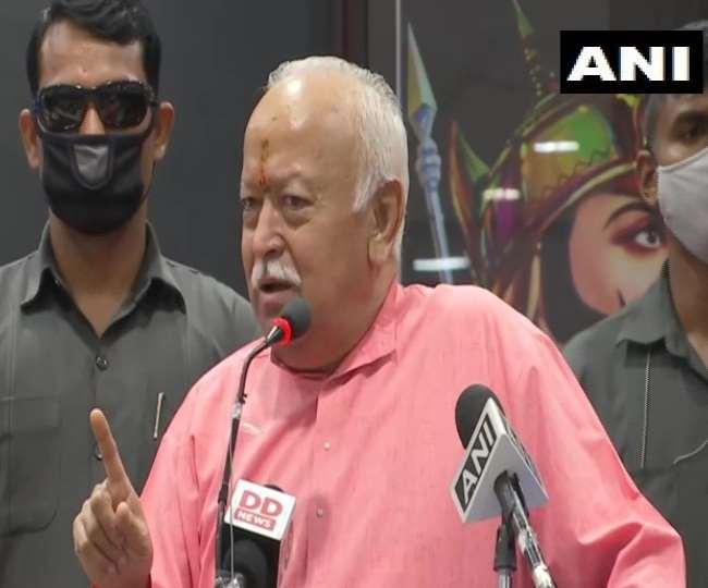 संघ प्रमुख मोहन भागवत का बड़ा बयान, कहा- गौ माता पूजनीय लेकिन लिंचिंग करने वाले हिंदुत्व के खिलाफ