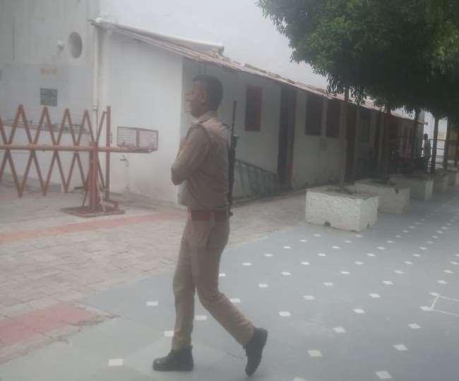Threat For Blast in Lucknow: धार्मिक स्थलों की सुरक्षा बढ़ाई गई, एटीएस व पुलिस ने शुरू की पड़ताल