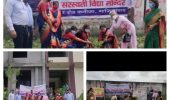 सरस्वती पब्लिक स्कूल में चलाया गया वृक्षारोपण अभियान