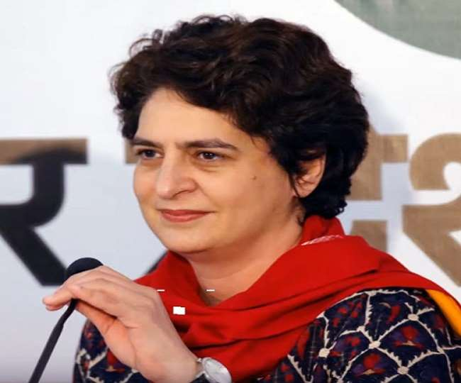 UP Election: उप्र में मुख्यमंत्री पद के लिए प्रियंका होंगी कांग्रेस का चेहरा, अकेले सभी सीटों पर चुनाव लड़ेगी पार्टी