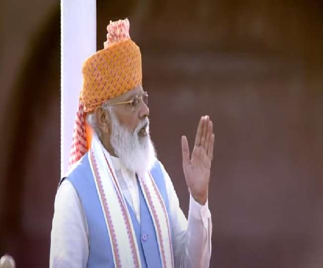 स्वतंत्रता दिवस पर प्रधानमंत्री का लालकिले से देश को नया संदेश, जानिए PM मोदी के संबोधन की 10 बड़ी बातें..
