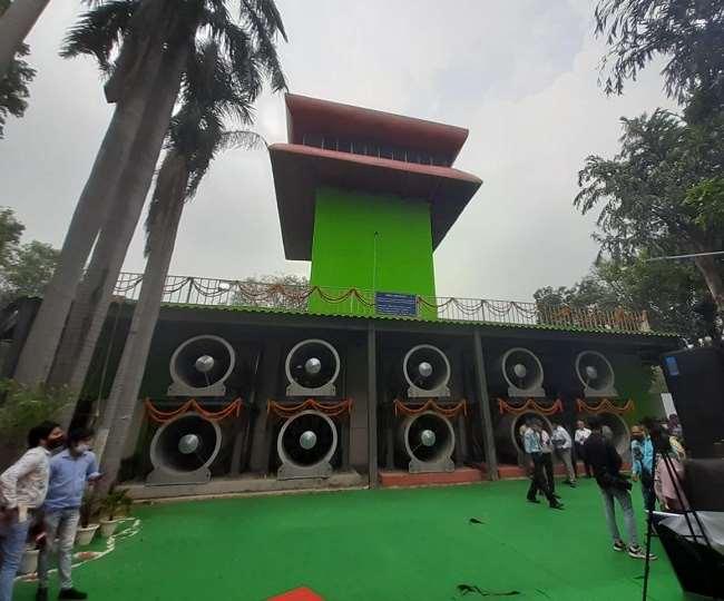 Smog Tower In Delhi: देश को मिला पहला स्माग टावर, अरविंद केजरीवाल ने किया उद्घाटन; जानिये- इसके फायदे