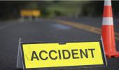 गाजियाबाद: सड़क हादसे का शिकार हुए स्कूटी सवार युवक-युवती, रात भर सड़क पर पड़े रहे, युवक की मौत