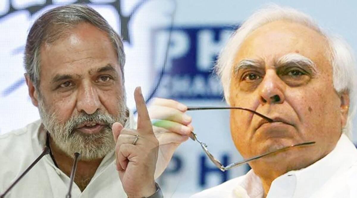 कपिल सिब्बल के खिलाफ कांग्रेस कार्यकर्ताओं ने किया प्रदर्शन, आनन्द शर्मा ने जताई नाराजगी