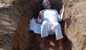kisan Andolan: दिल्ली से सटे गाजियाबाद में जिंदा समाधि लेने की कोशिश में किसान, पढ़िये- पूरा मामला