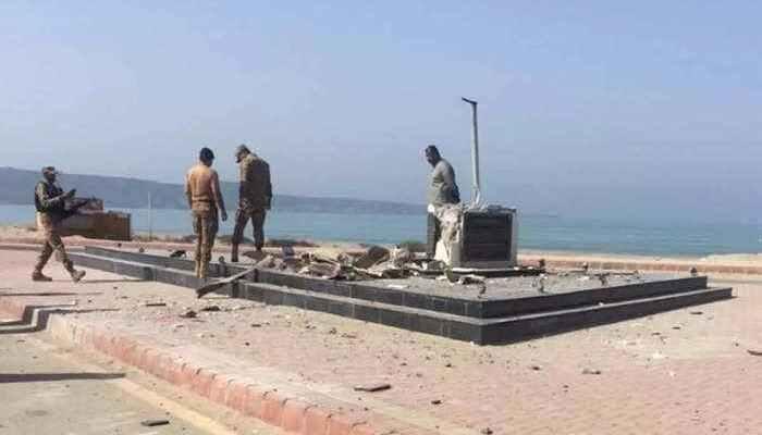 पाकिस्तान में मोहम्मद अली जिन्ना की मूर्ति को बम से उड़ाया