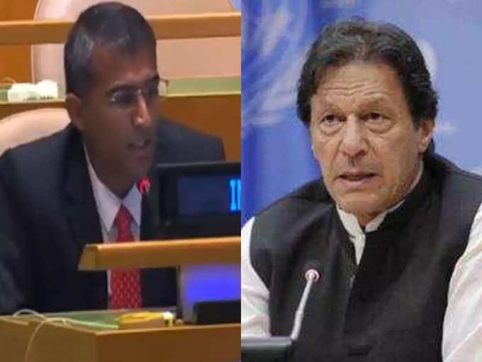 भारत ने यूएन में पाकिस्तान को जमकर लताड़ा, कहा- आपके पीएम लादेन को शहीद बताते हैं