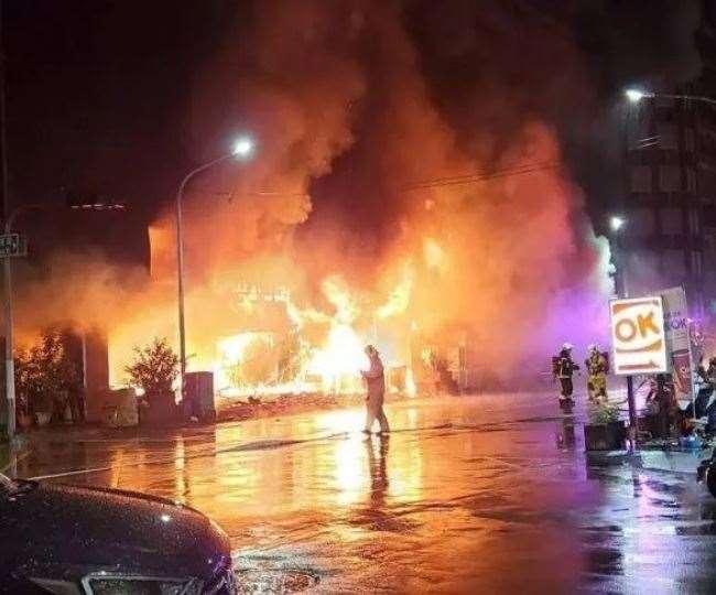 ताइवान: 13 मंजिला इमारत में भीषण आग, अब तक 46 लोगों की मौत
